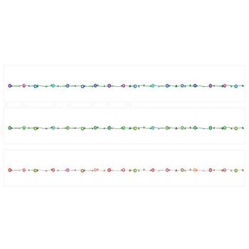 朝顔のライン | 罫線・飾り罫ライン素材 FREE LINE DESIGN