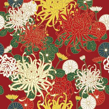 粋屋-日本の伝統文様と伝統色 菊文様