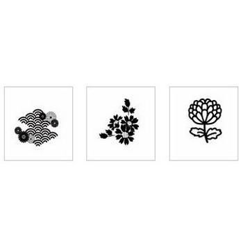 菊|シルエット イラストの無料ダウンロードサイト「シルエットAC」