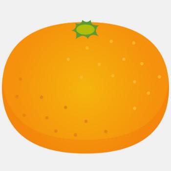商用フリー・無料イラスト_みかん(Mandarin orange)02   商用OK!フリー素材集「ナイスなイラスト」