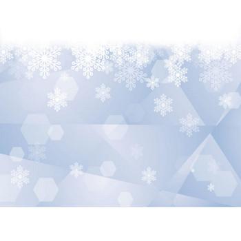 雪の結晶 ガラス ブルー 背景 イラスト 無料 | イラストダウンロード