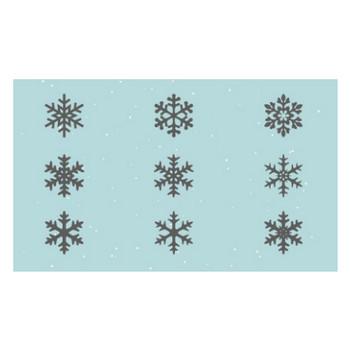 雪の結晶 シルエット 2 | EC design(デザイン)