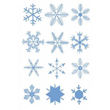 かわいいデザインの雪の結晶。無料ベクターイラスト素材 - All Free Clipart +