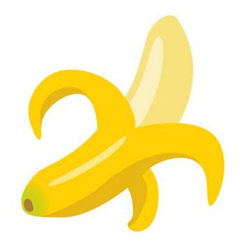 バナナのイラスト | 無料フリーイラスト素材集【Frame illust】