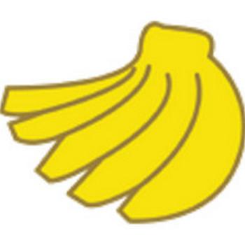 フルーツバナナ GIF 無料素材 ダウンロード | ペーパーミュージアム