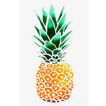 無料ダウンロードのためのパイナップル, 水彩, イラスト, 文芸 png画像