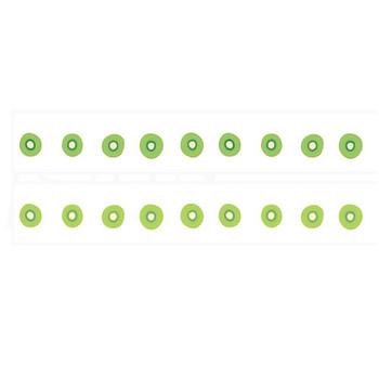 キウイのイラストライン線 | 罫線・飾り罫ライン素材 FREE LINE DESIGN