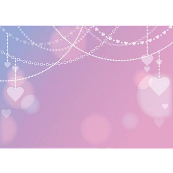 バレンタイン 背景 チェーン ピンク イラスト 無料 | イラストダウンロード
