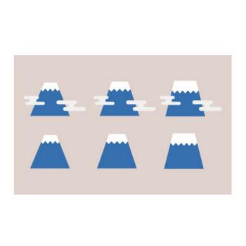 富士山のイラスト 2 | EC design(デザイン)