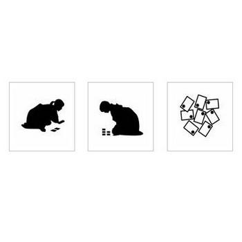 かるた|シルエット イラストの無料ダウンロードサイト「シルエットAC」