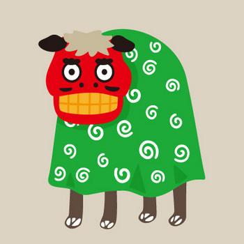 獅子舞の無料素材 – クリスマス・ハロウィン、お正月イラストEVENTs Design