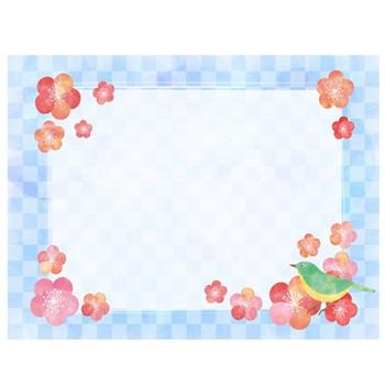 【無料素材】梅の花のフレーム枠・背景のイラスト【おすすめ】 | じゃぱねすくライフ