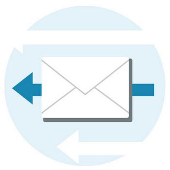 [無料イラスト] 電子メールのアイコン - パブリックドメインQ:著作権フリー画像素材集