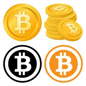 ビットコインのイラスト画像   無料フリーイラスト素材集【Frame illust】