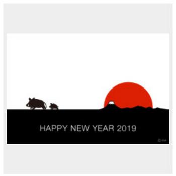 【まとめ】2019年亥年の無料イラスト年賀状素材集|イラストイメージ