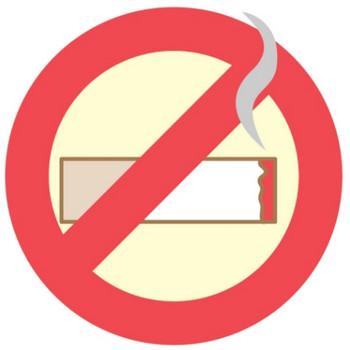 禁煙マークのアイコンのイラスト - 無料イラストのIMT 商用OK、加工OK