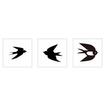 つばめ|シルエット イラストの無料ダウンロードサイト「シルエットAC」