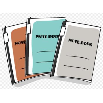 ノートの無料素材イラスト | おしゃれでかわいいフリーイラスト素材 イラストナビ