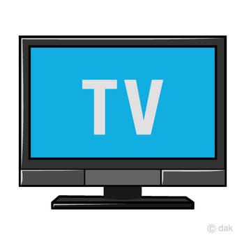 テレビ番組の無料イラスト素材|イラストイメージ