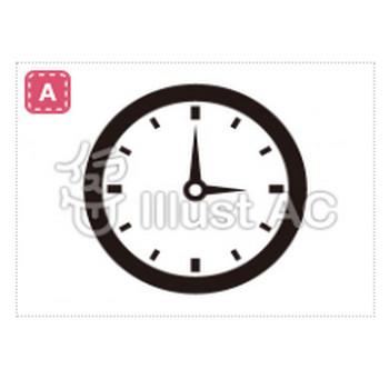時計イラスト/無料イラストなら「イラストAC」