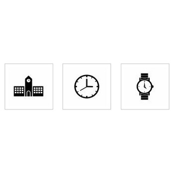 時計|シルエット イラストの無料ダウンロードサイト「シルエットAC」