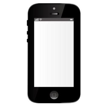[無料イラスト] スマートフォン - パブリックドメインQ:著作権フリー画像素材集