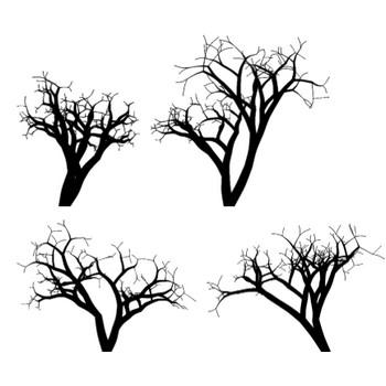木のイラストセット15|イラスト(木)|Webの素材屋「カラフル」