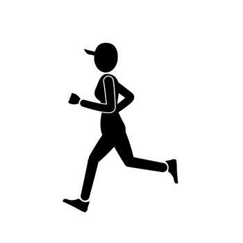マラソン | 運動 | エクササイズ | 趣味・興味 | ピクトグラム | フリー素材 | イラスト