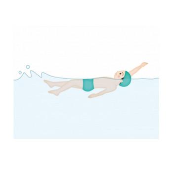 水泳・背泳ぎのイラスト素材 | イラスト無料・かわいいテンプレート