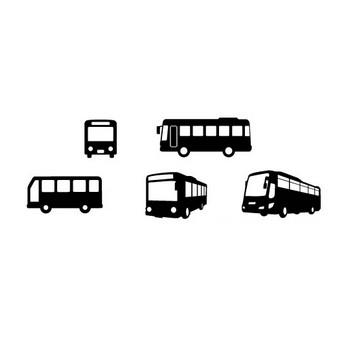 バス | シルエットデザイン