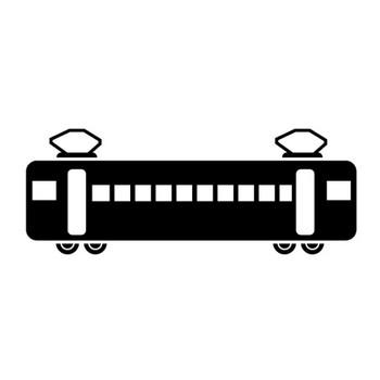 電車|車両|乗り物|イラスト|フリー素材