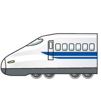 【まとめ】新幹線のフリーイラスト素材集 イラストイメージ
