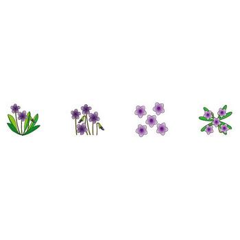 春の花のイラスト3-花の無料イラスト素材-イラストポップ