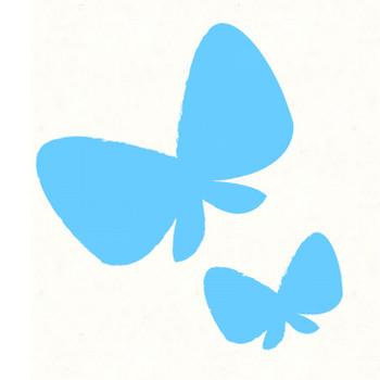 蝶のシルエット | フリーイラスト素材のぴくらいく|商用利用可能です