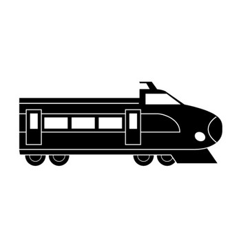 新幹線 電車 乗り物 イラスト フリー素材