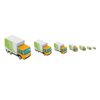 トラック-運搬 - アイコン素材