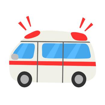 救急車のイラスト | 無料のフリー素材 イラストエイト