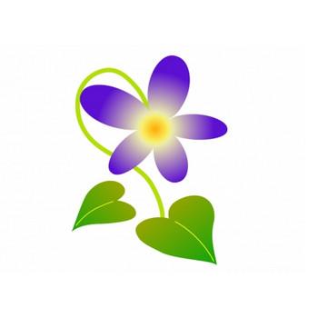すみれのイラスト | イラスト無料・かわいいテンプレート