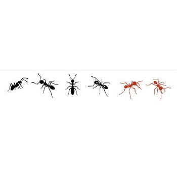 蟻のシルエット | シルエットデザイン