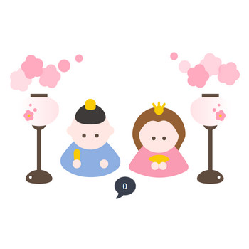 ひな祭りのイラスト   無料イラスト素材集 Lemon