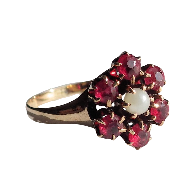 Ring Gold Flower