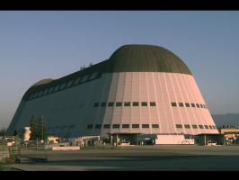 Moffet Field Hangar One