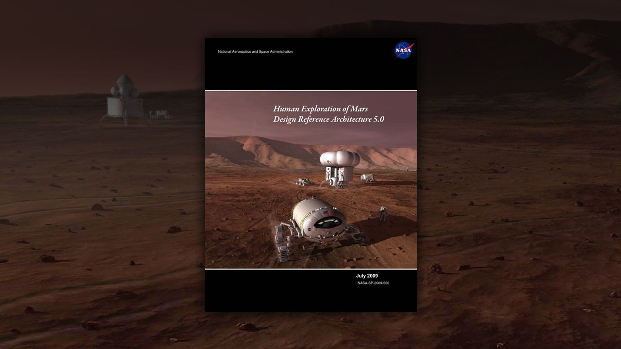 NASA  Missions to Mars Robotics and Humans Together briefing graphics