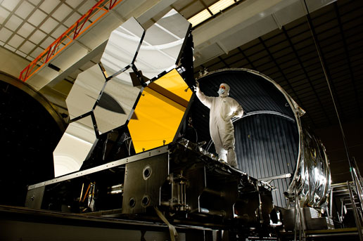 NASA  James Webb Space Telescope Cryogenic Mirror Test