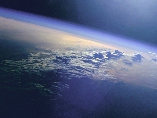 The Indian Ocean as seen from space