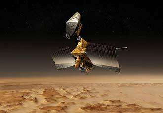 Mars Reconnaissance Orbiter | Image: NASA