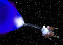 positron ablation rocket
