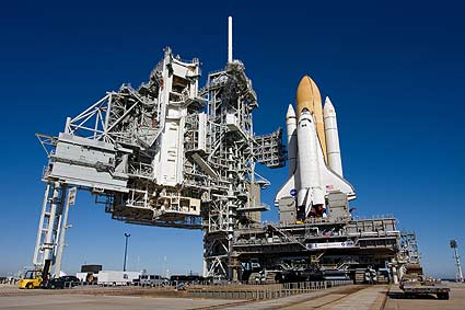 Space shuttle  - img courtesy of NASA