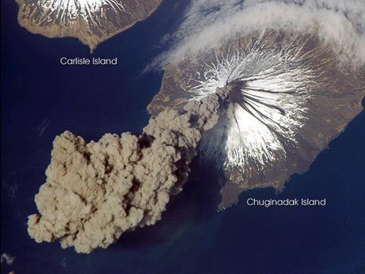 Cleveland Volcano, Aleutian Islands, Alaska