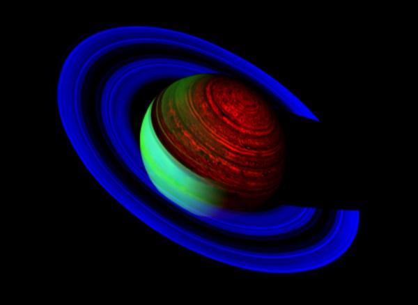 Nasa - Neon Saturn